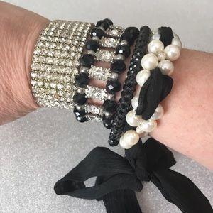 Jewelry - Rhinestone bracelet bundle